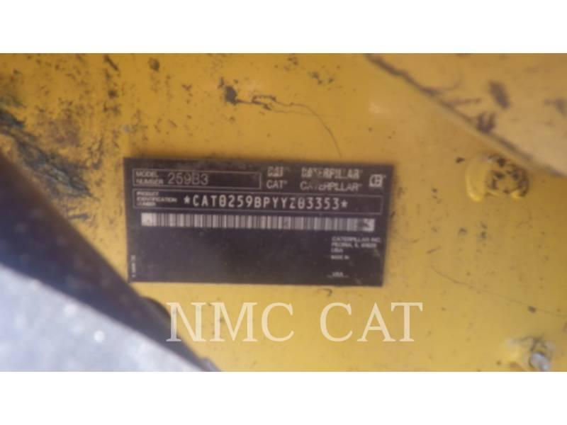 CATERPILLAR CARGADORES MULTITERRENO 259B3 equipment  photo 1