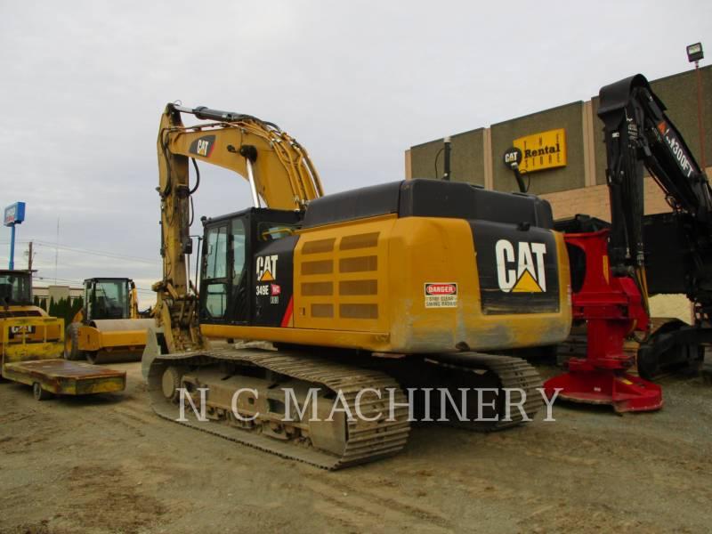 CATERPILLAR TRACK EXCAVATORS 349E L equipment  photo 8