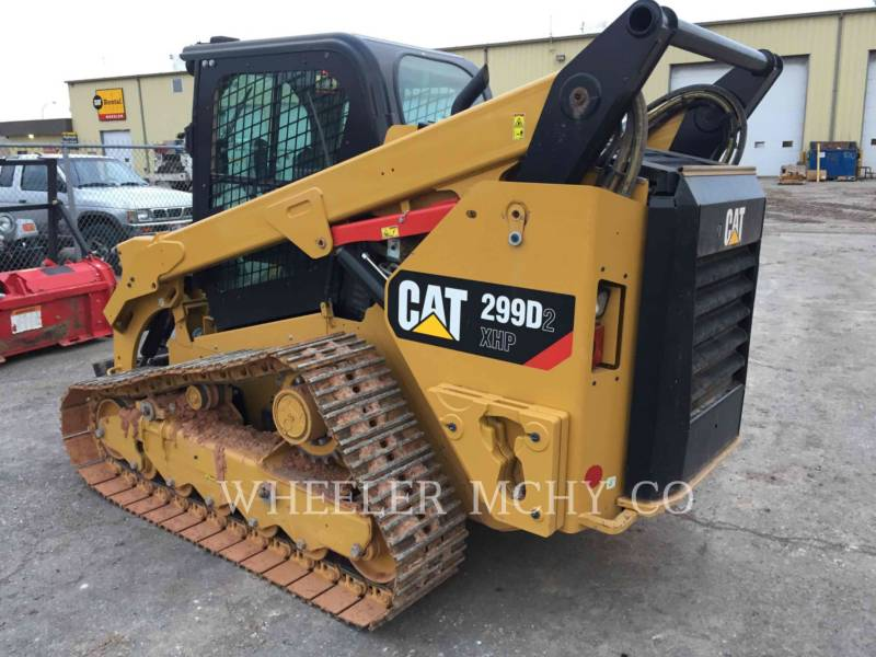CATERPILLAR CARREGADEIRAS TODO TERRENO 299D2XHPST equipment  photo 4