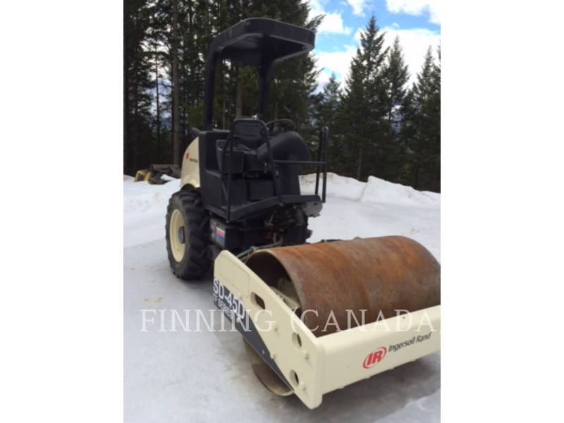 INGERSOLL-RAND EINZELVIBRATIONSWALZE, GLATTBANDAGE SD-45D equipment  photo 2
