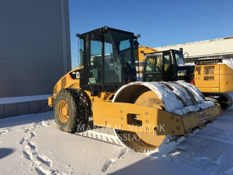 CATERPILLAR COMPATTATORE A SINGOLO TAMBURO VIBRANTE LISCIO CS56 equipment  photo 1