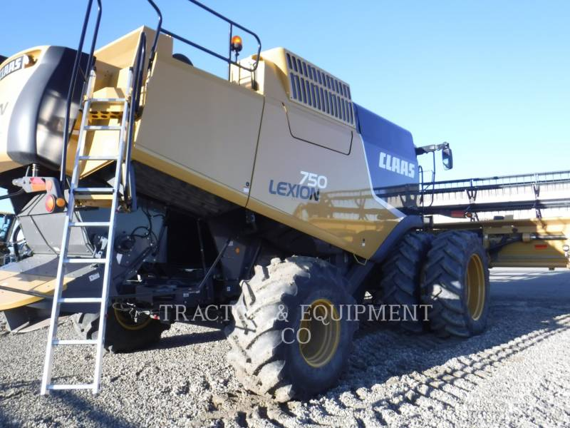 LEXION COMBINE COMBINADOS LX750 equipment  photo 8
