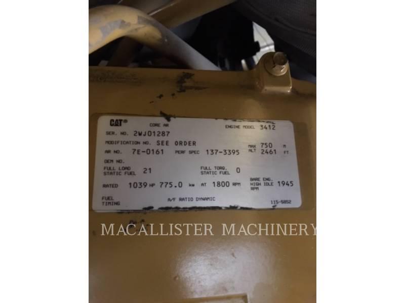CATERPILLAR STATIONARY GENERATOR SETS 3412 equipment  photo 10