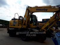 Equipment photo KOMATSU PW160 ESCAVADEIRAS DE RODAS 1