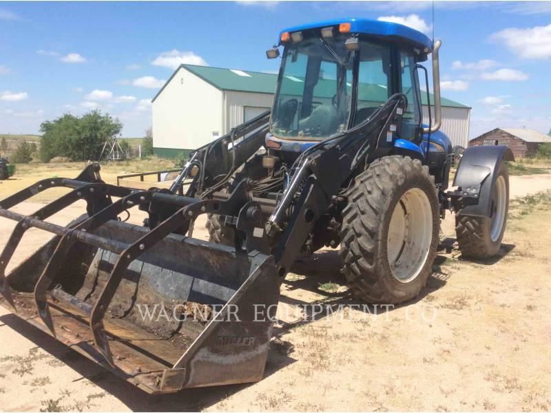 NEW HOLLAND LTD. AG TRACTORS TV145 equipment  photo 1