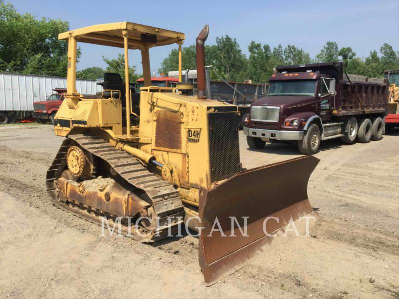 CATERPILLAR TRACK TYPE TRACTORS D4HII equipment  photo 1