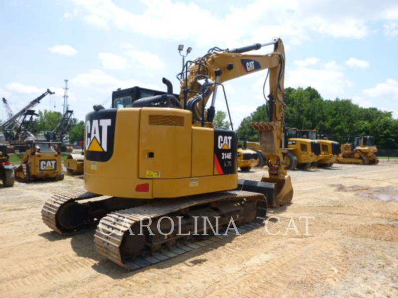 CATERPILLAR EXCAVADORAS DE CADENAS 314ECRTHBL equipment  photo 3