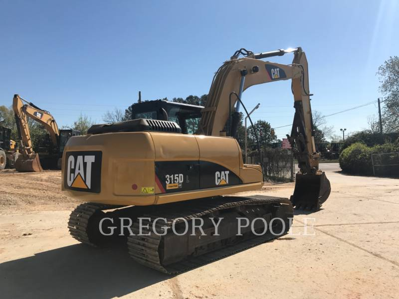 CATERPILLAR TRACK EXCAVATORS 315D L equipment  photo 5