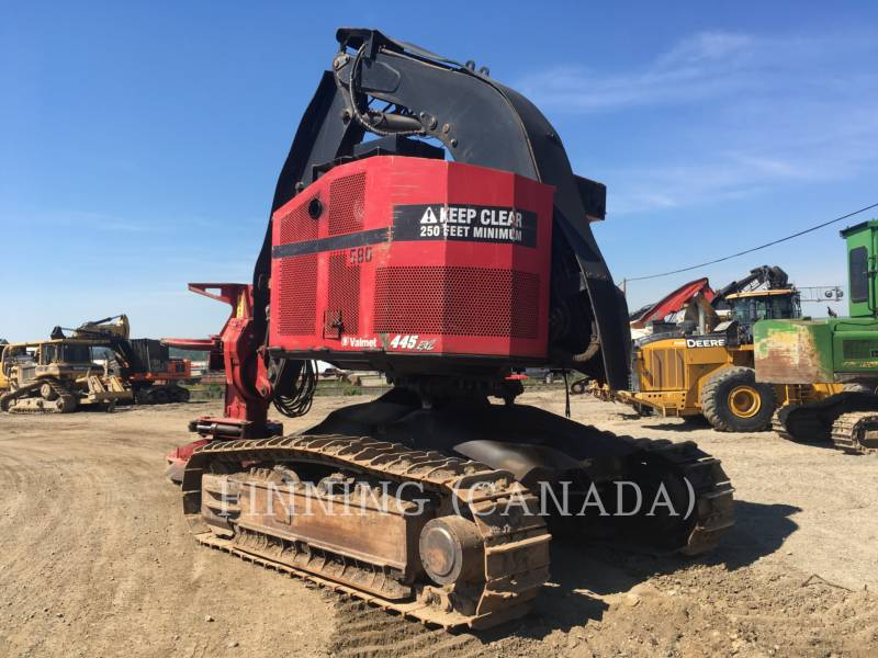 VALMET FORESTRY - FELLER BUNCHERS 445EXL equipment  photo 3