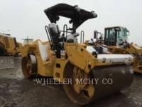CATERPILLAR VIBRATORY DOUBLE DRUM ASPHALT CB64 equipment  photo 2