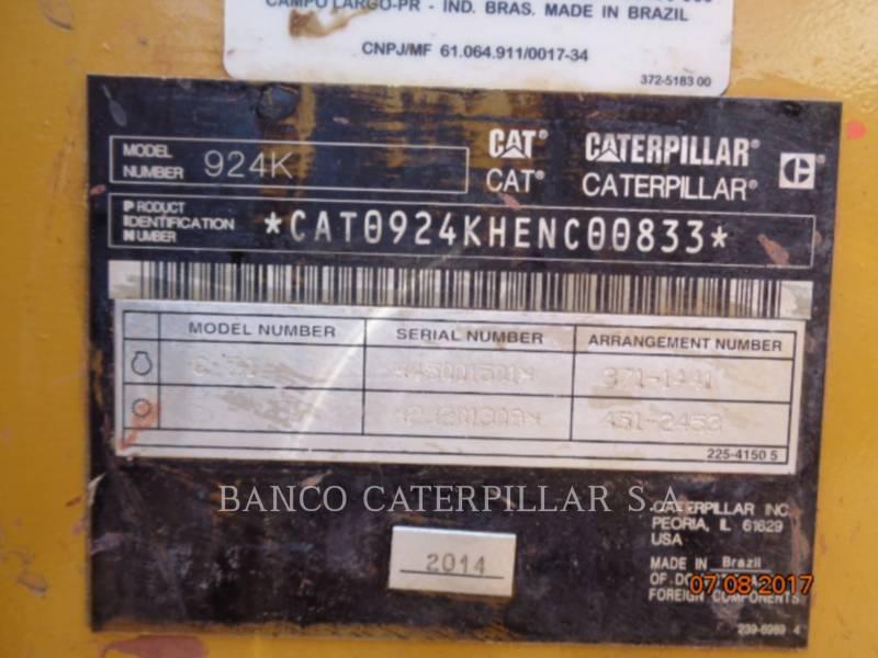 CATERPILLAR CARGADORES DE RUEDAS 924K equipment  photo 8