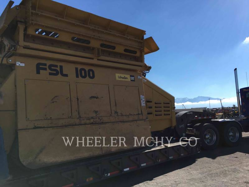 ANACONDA CRUSHERS FSL100 equipment  photo 1