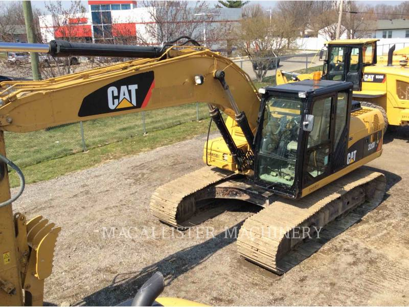 CATERPILLAR EXCAVADORAS DE CADENAS 320D equipment  photo 2