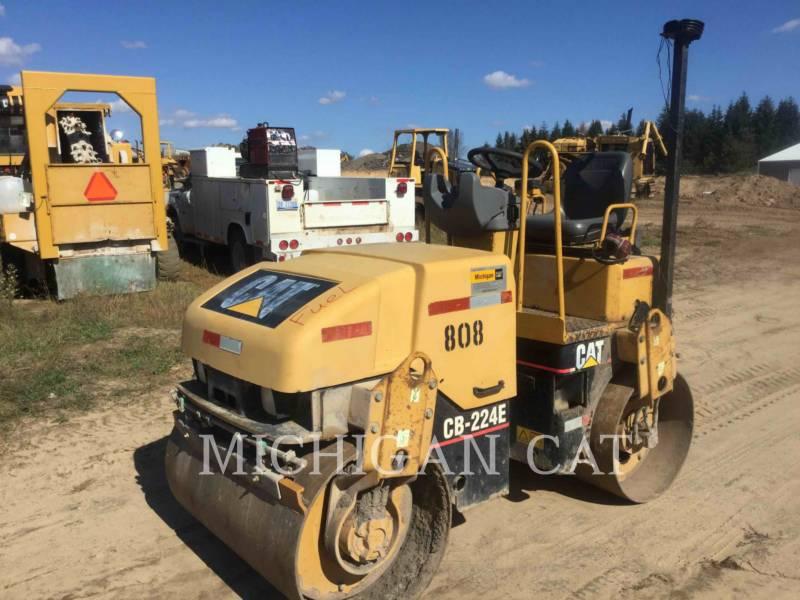 CATERPILLAR COMPACTEURS TANDEMS VIBRANTS CB224E equipment  photo 2