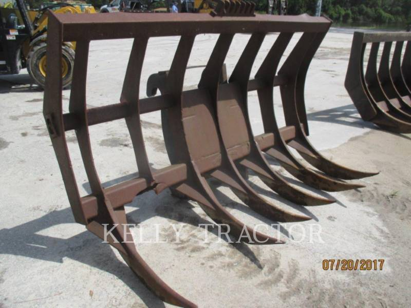 CATERPILLAR HERRAMIENTA DE TRABAJO - RASTRILLO FUSION QC RAKE FOR 938/930/926 equipment  photo 1