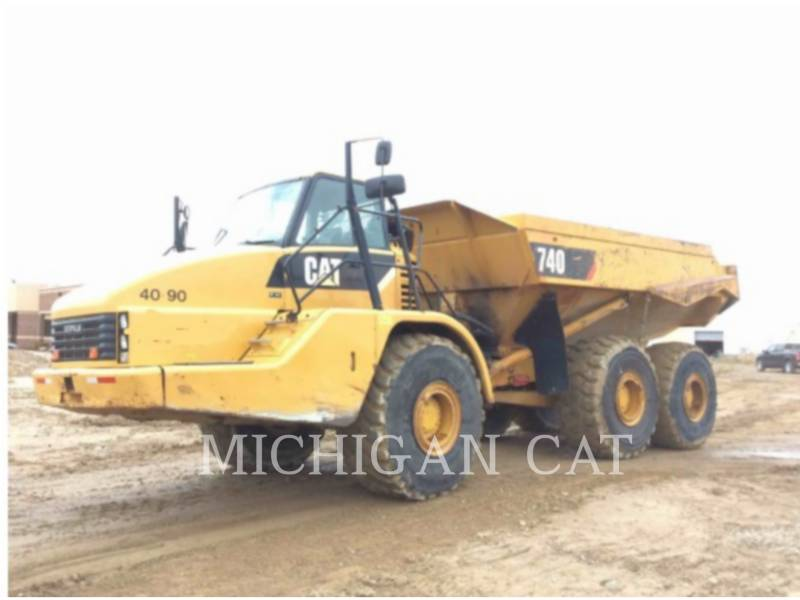 CATERPILLAR ARTICULATED TRUCKS 740 T equipment  photo 1