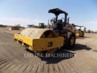 CATERPILLAR 振動シングル・ドラム・スムーズ CS56B equipment  photo 4