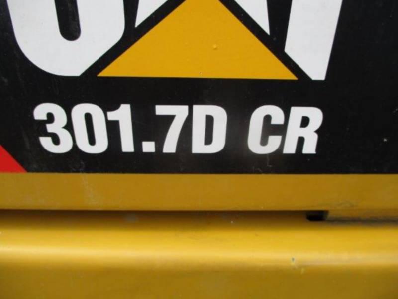 CATERPILLAR TRACK EXCAVATORS 301.7DCR equipment  photo 7