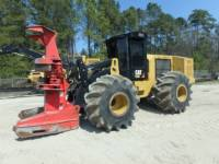 Equipment photo CATERPILLAR 573C FORESTRY - FELLER BUNCHERS - WHEEL 1