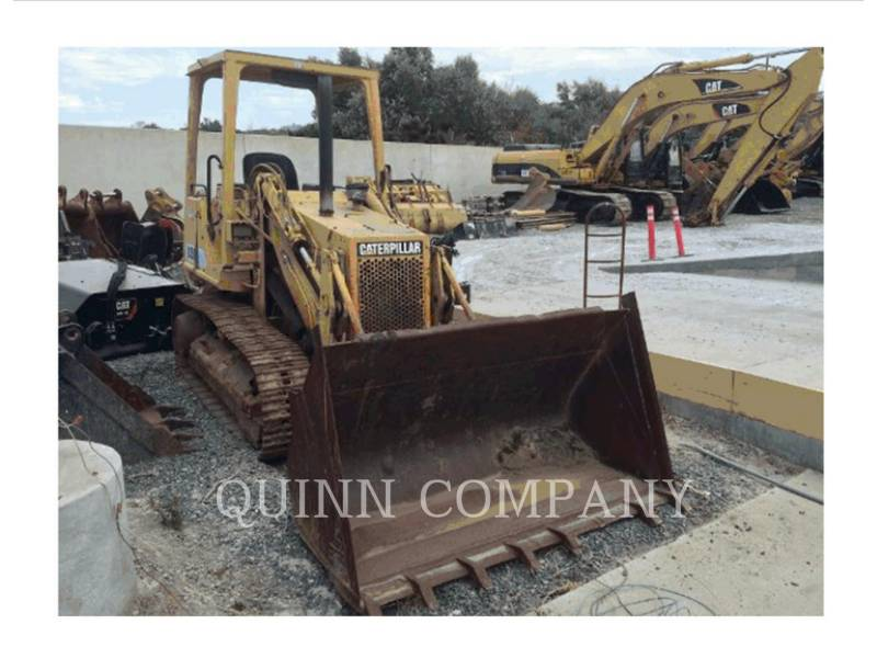 CATERPILLAR TRACK LOADERS 935C equipment  photo 1