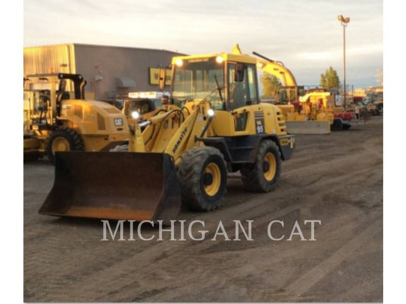 KOMATSU WHEEL LOADERS/INTEGRATED TOOLCARRIERS WA95-3 equipment  photo 2