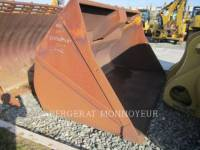 Equipment photo CATERPILLAR GODET GRAND VOLUME 972 WT - BUCKET 1
