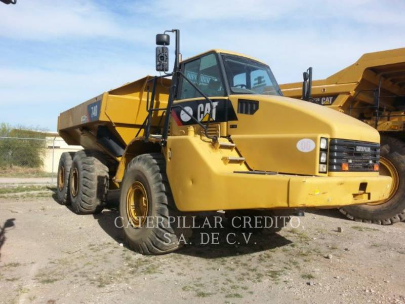 CATERPILLAR ARTICULATED TRUCKS 740 equipment  photo 2