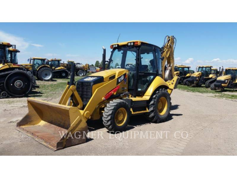 CATERPILLAR BAGGERLADER 416F 4WD equipment  photo 1