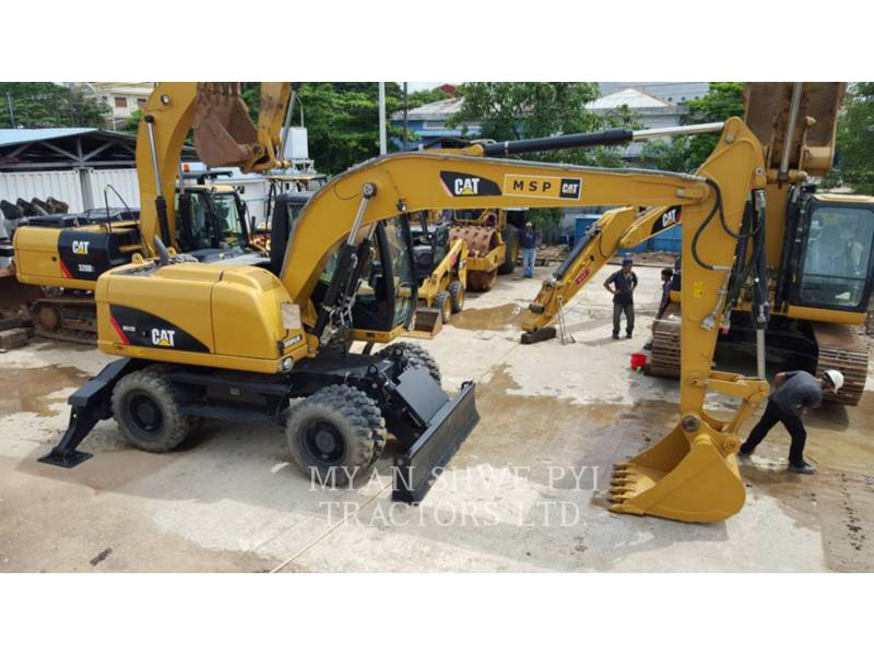 CATERPILLAR WHEEL EXCAVATORS M313 D equipment  photo 4