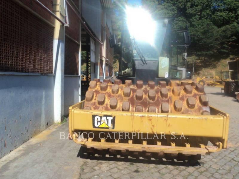 CATERPILLAR VIBRATORY SINGLE DRUM PAD CP54B equipment  photo 2