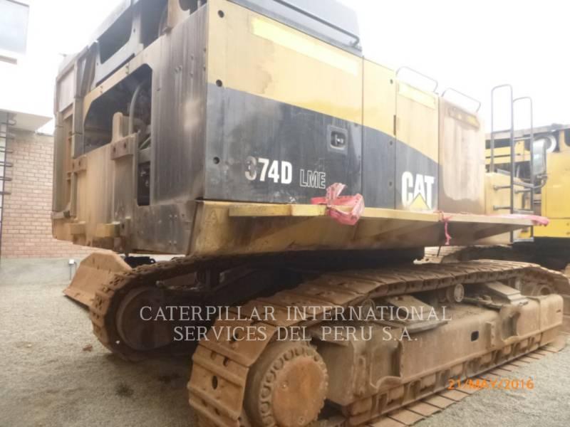 CATERPILLAR PELLES SUR CHAINES 374DL equipment  photo 3