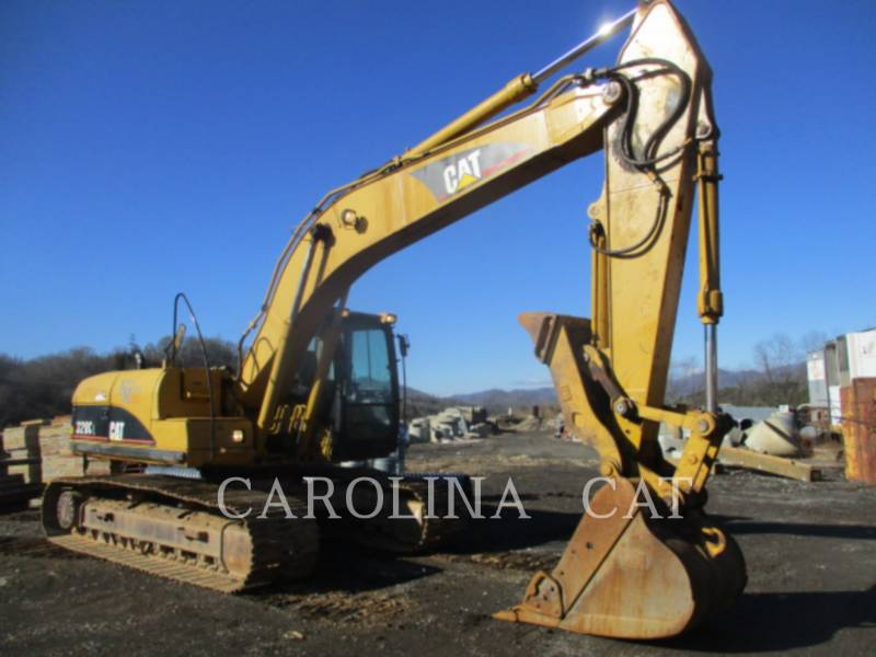 CATERPILLAR TRACK EXCAVATORS 320CL TH equipment  photo 6