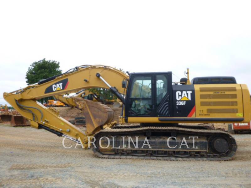 CATERPILLAR TRACK EXCAVATORS 336FL QC equipment  photo 1