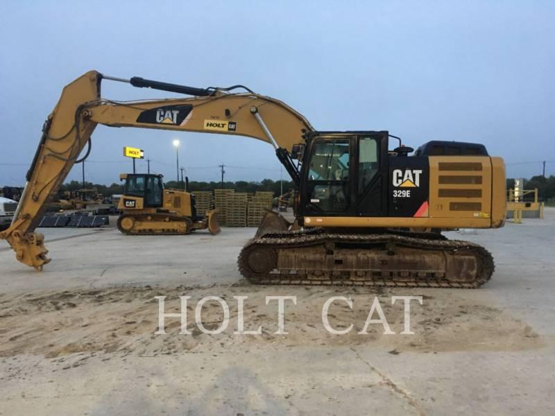 Caterpillar EXCAVATOARE PE ŞENILE 329EL equipment  photo 1