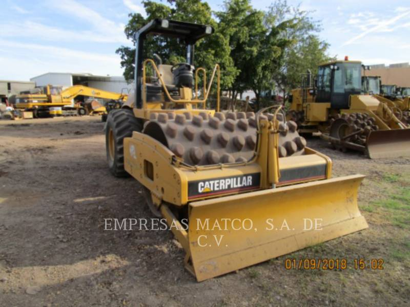 CATERPILLAR VIBRATORY SINGLE DRUM PAD CP-563E equipment  photo 2