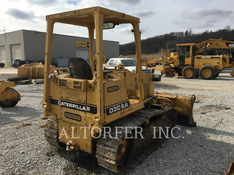 CATERPILLAR TRACK TYPE TRACTORS D3C equipment  photo 5