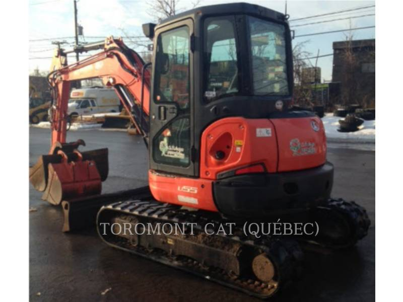 KUBOTA CORPORATION EXCAVADORAS DE CADENAS U55 equipment  photo 4