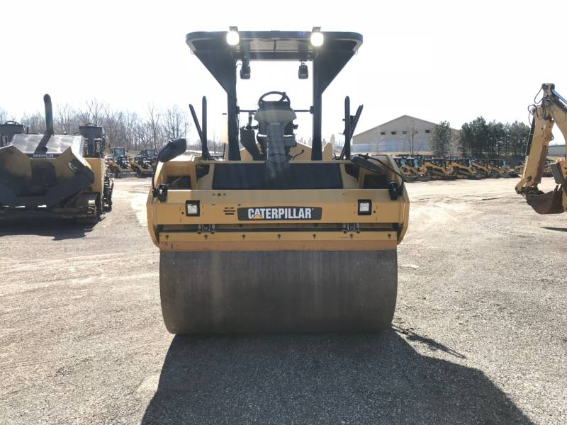 CATERPILLAR VIBRATORY DOUBLE DRUM ASPHALT CB54 equipment  photo 13