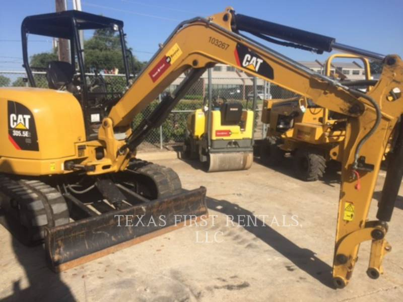 CATERPILLAR EXCAVADORAS DE CADENAS 305.5E CR equipment  photo 2