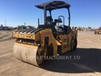 CATERPILLAR TANDEMOWY WALEC WIBRACYJNY DO ASFALTU (STAL-STAL) CB44B equipment  photo 2