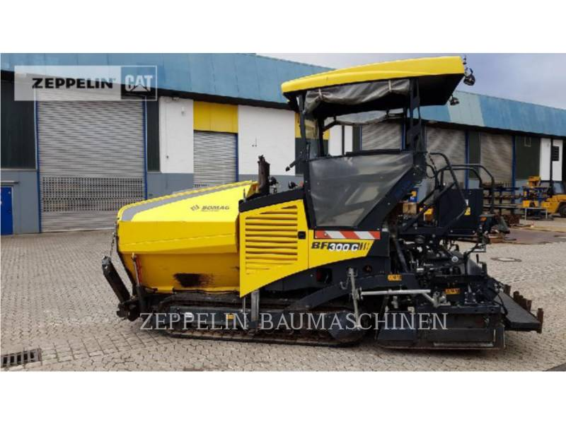 BOMAG ASPHALT PAVERS BF300C equipment  photo 6