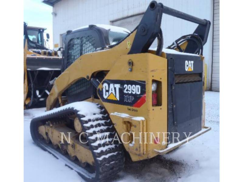 CATERPILLAR スキッド・ステア・ローダ 299D XHP equipment  photo 4