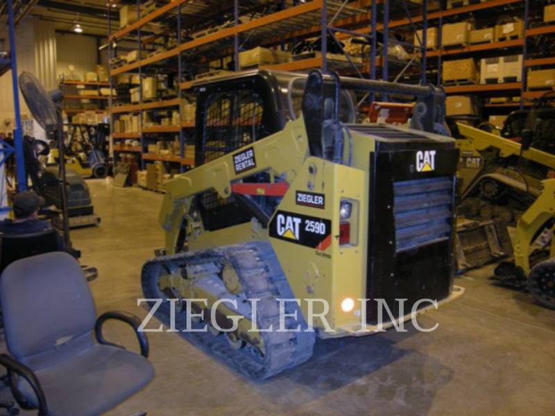 CATERPILLAR CARGADORES MULTITERRENO 259DSR equipment  photo 1