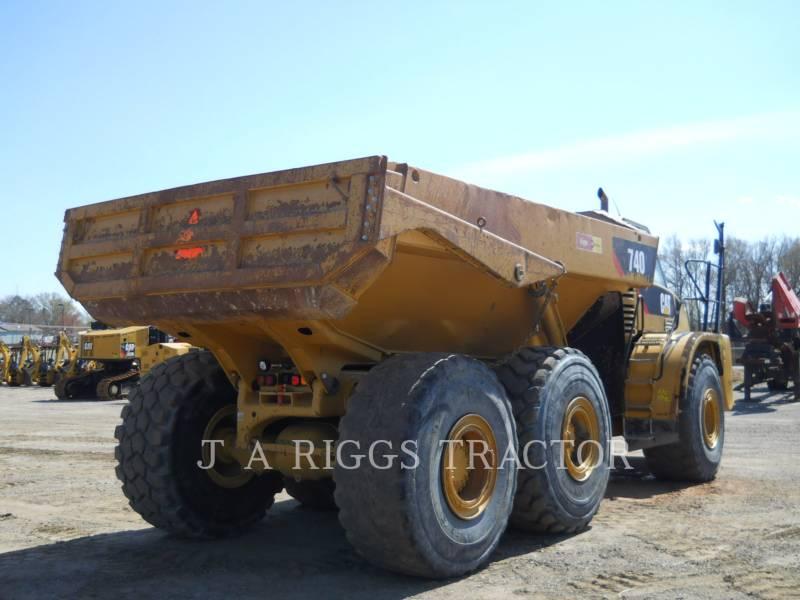 CATERPILLAR ARTICULATED TRUCKS 740 T equipment  photo 5