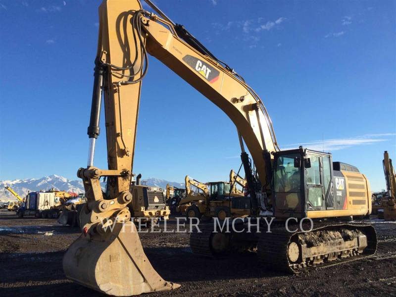 CATERPILLAR KETTEN-HYDRAULIKBAGGER 336E LH CF equipment  photo 8