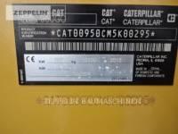CATERPILLAR CHARGEURS SUR PNEUS/CHARGEURS INDUSTRIELS 950GC equipment  photo 9