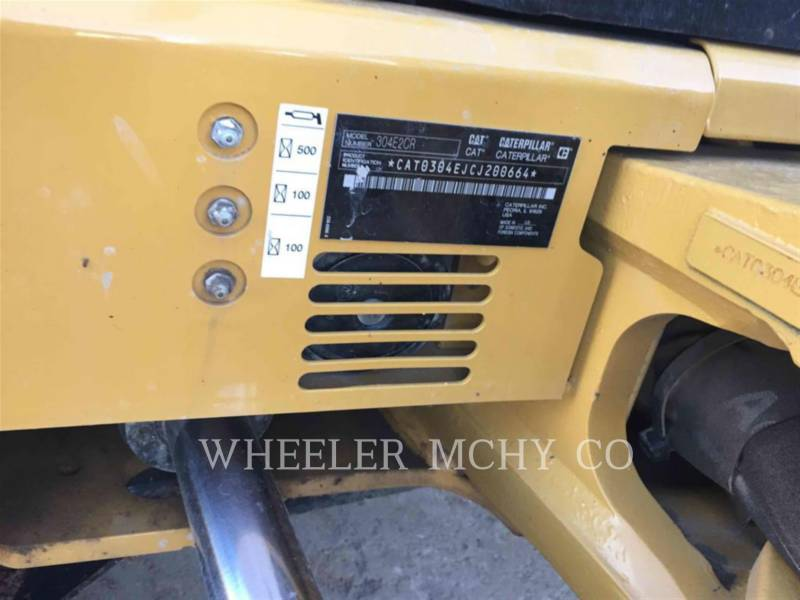 CATERPILLAR EXCAVADORAS DE CADENAS 304E2 C3TH equipment  photo 4