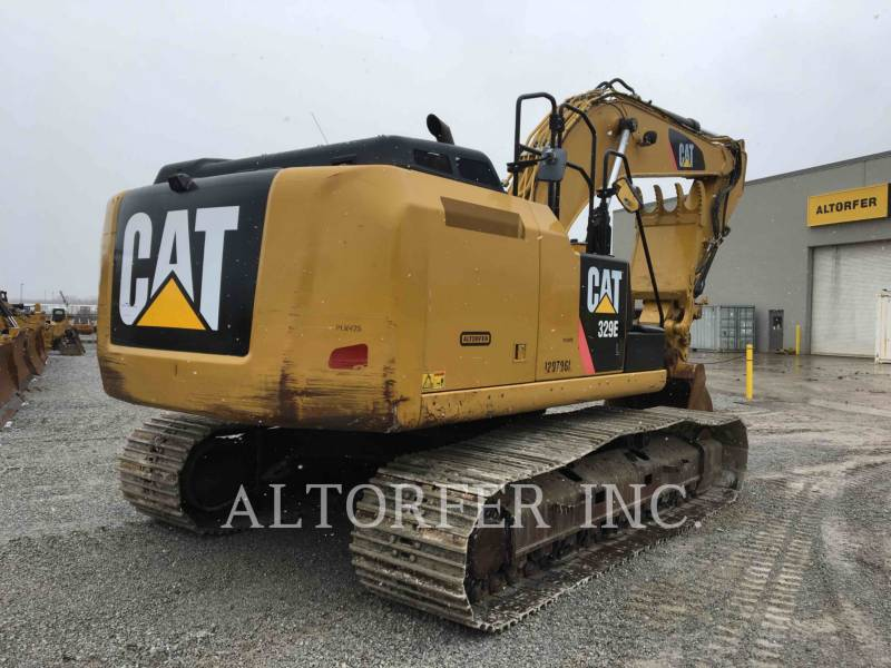 CATERPILLAR TRACK EXCAVATORS 329EL TH equipment  photo 7