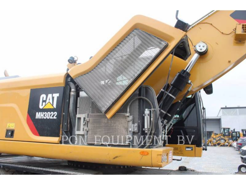 CATERPILLAR ESCAVADEIRAS DE RODAS MH3022 equipment  photo 12