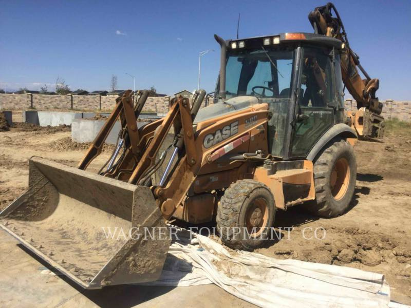 CASE BACKHOE LOADERS 580SUPERN equipment  photo 1